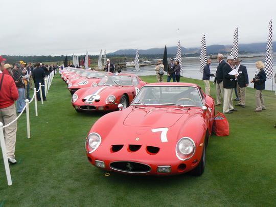 22 Ferraris 250 GTO