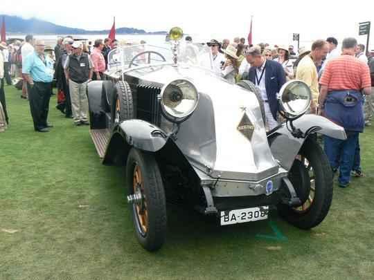 Renault 1926 40 CV Labourdette Skiff