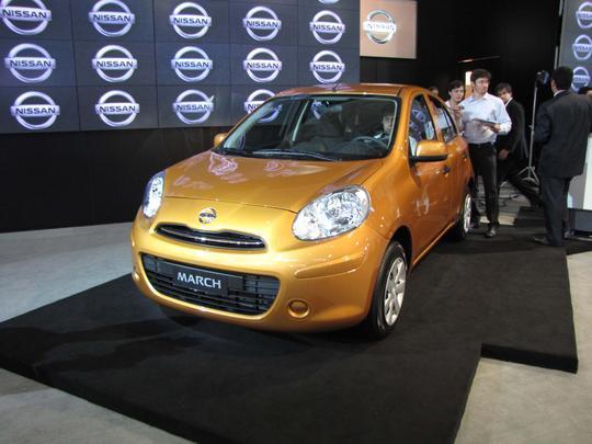 Nissan lan�a March por a partir de R$ 27.790