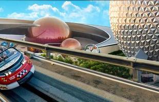 Test-Track, a atração em um dos parques da Disney que leva a marca da GM