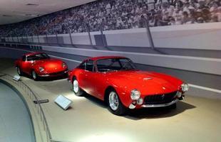 Na Galleria Ferrari também há espaço para os antigos