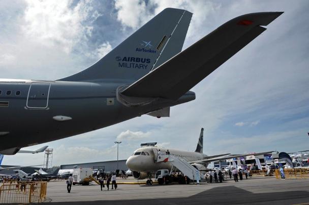 Exposição do Airbus Militar
