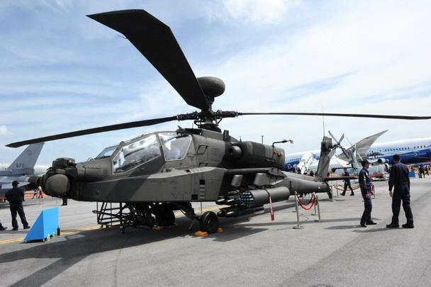 Helicóptero Apache AH-64D