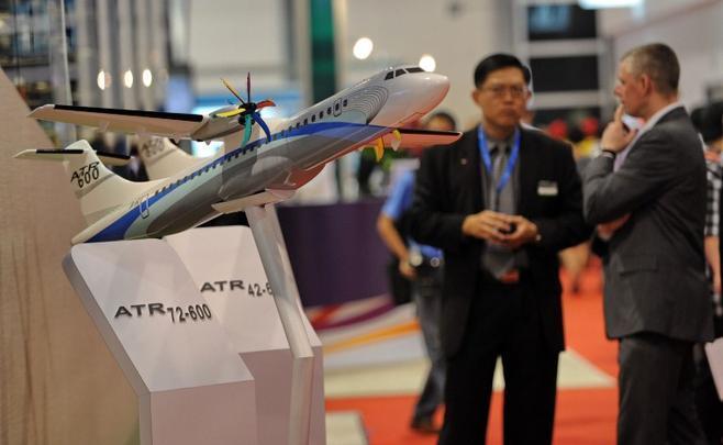 Display do ATR 72-600