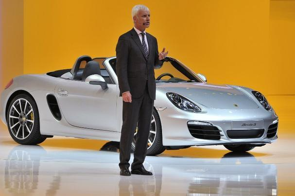 Novo Porsche Boxster S