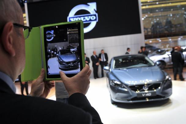 V40, lançamento da Volvo no Salão de Genebra