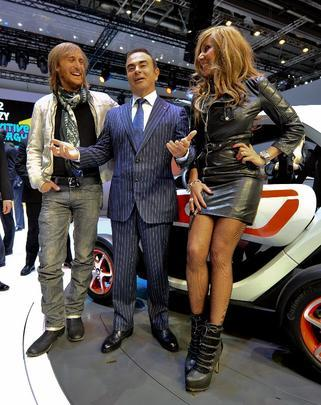 David Guetta, Carlos Ghosn e Cathy