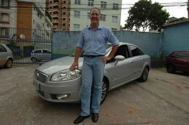 Depois do primeiro esportivo, Nelson Karaim não teve outro tipo de carro e hoje dirige um Linea T-Jet