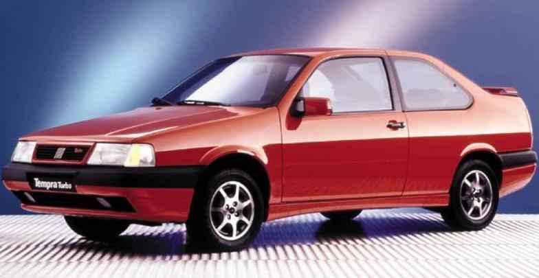 Tempra Turbo era um legítimo esportivo. Lançado em 1994, tinha carroceria duas portas
