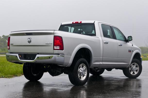 Ram 2500 Laramie, a antiga 'Dodge Ram'