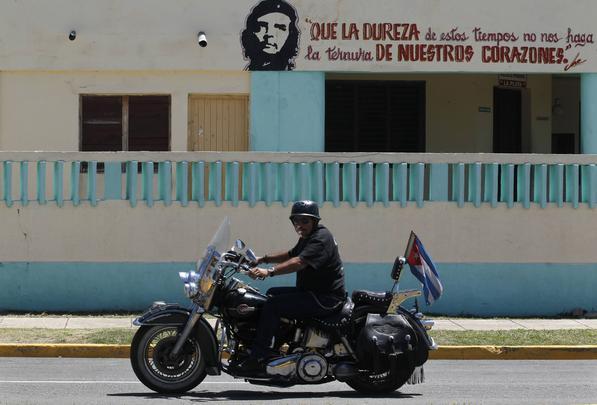 Encontro de Harley Davidson em Cuba