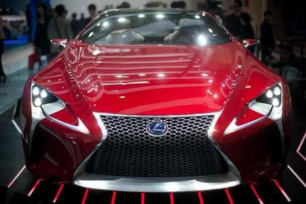 Conceito Lexus 'LF-LC' hybrid