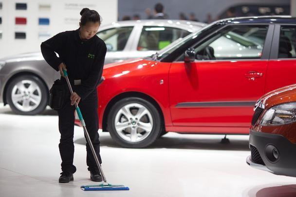 Os preparativos para o Salão de Pequim 2012