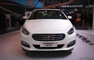 Fiat Viaggio é apresentado no Salão de Pequim
