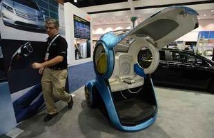 En-V, veículo de locomoção individual, da General Motors