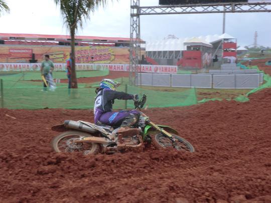 Jorge Balbi, melhor brasileiro na categoria MX1