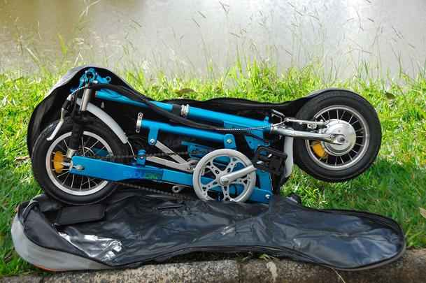 Bicicleta elétrica dobrável Ecolev Nano