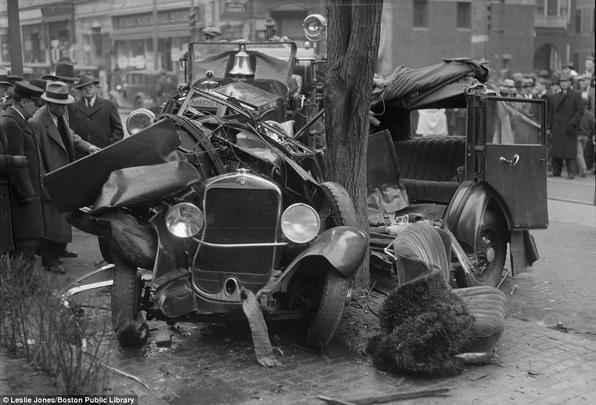 Acidentes na década de 1920