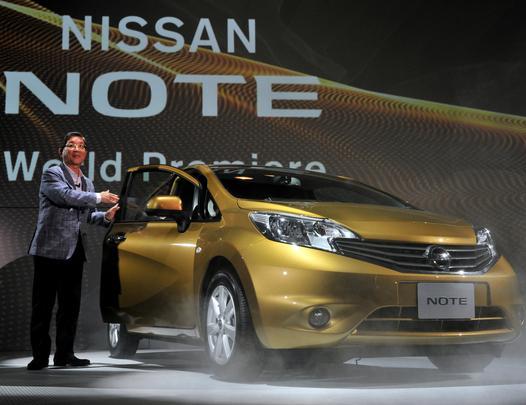 Novo Note vai disputar mercado dos monovolumes compactos com o Honda Fit