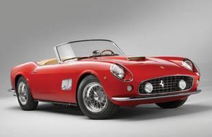 Ferrari 250 GT Spyder California, modelo igual ao que aparece no filme 'Curtindo a vida adoidado', será leiloada na casa de leilões RM em Monterey e já tem lance inicial de R$15 milhões