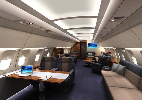 Versão executiva do Airbus A318