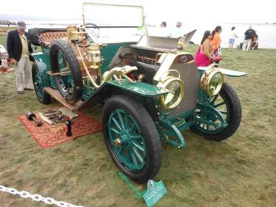 FIAT 1911 TIPO 6 HOLBROOK 4 PASSENGER DEMI-TONNEAU