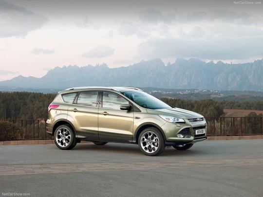 Ford Kuga deve fazer sua estreia no mercado brasileiro em outubro de 2013