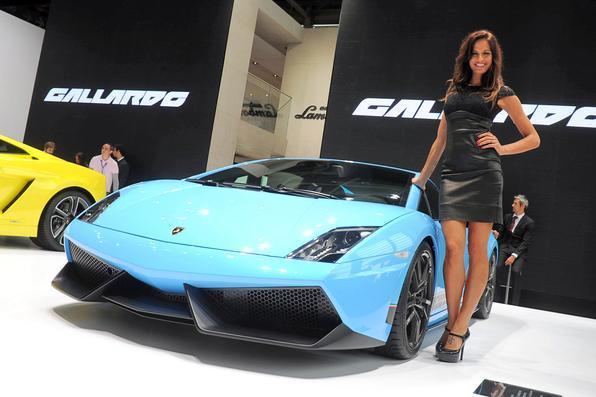 Lamborghini esbanja elegância