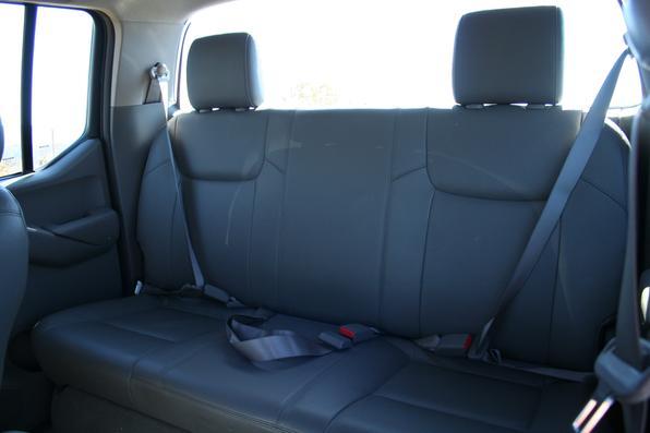 Teste Nissan Frontier SEL 4x4 2008