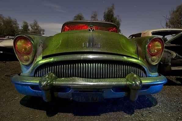 1954 Buick Special - Troy Paiva registra imagens noturnas no Velho Oeste dos EUA