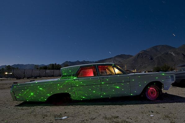 1965 Mercury Montclair - Troy Paiva registra imagens noturnas no Velho Oeste dos EUA