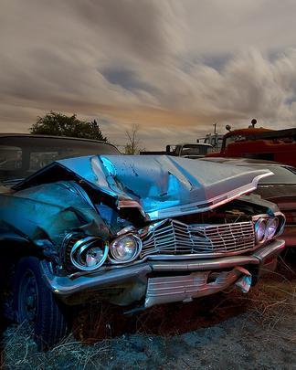 1964 Chevrolet Impala - Troy Paiva registra imagens noturnas no Velho Oeste dos EUA