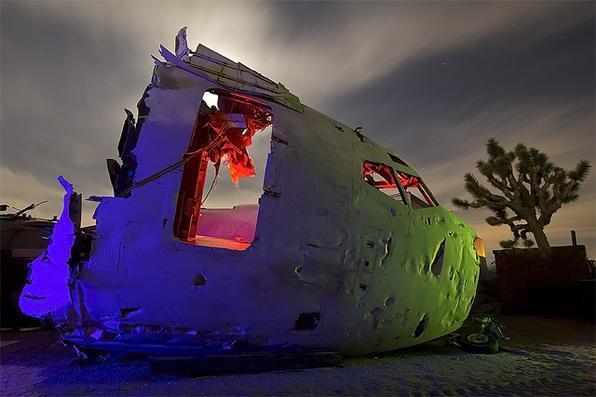 Boeing 737 - Troy Paiva registra imagens noturnas no Velho Oeste dos EUA