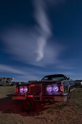 1975 Mercury Cougar - Troy Paiva registra imagens noturnas no Velho Oeste dos EUA