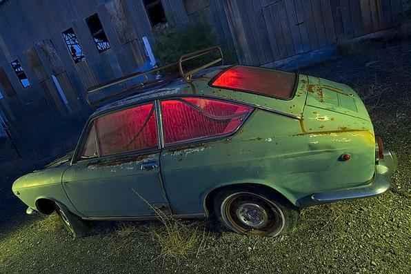 Fiat 850 - Troy Paiva registra imagens noturnas no Velho Oeste dos EUA