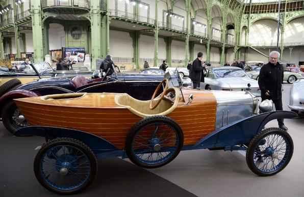 O Amilcar Type 4C Skiff (1922) é um dos carros de luxo vintages que serão exibidos no leilão Bonhams no Grand Palais, nesta quinta-feira (7), em Paris. São 125 automóveis antigos, 100 motos de colecionadores e um avião Moth Gipsy de 1920