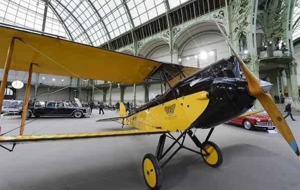 O avião Gipsy Moth de Havilland (1929)