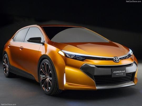 Toyota Corolla Furia Concept - Toyota/Divulga��o