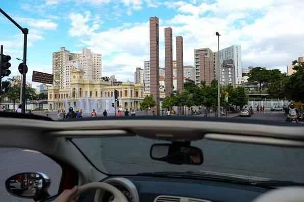 Conhecida como Praça da Estação, a Praça Rui Barbosa começou a ser contruída em 1904...