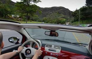 ... e avançamos em direção ao cartão postal de BH: Serra do Curral