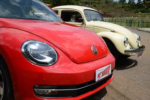 Fusca manteve o carisma e linhas do modelo que fez história no mundo do automóvel (Fotos: Thiago Ventura/EM/D.A Press)