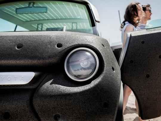Designers criaram veículo com foco na praticidade e energia verde. Carroceria é feita em polipropileno e estrutura em alumínio tubular