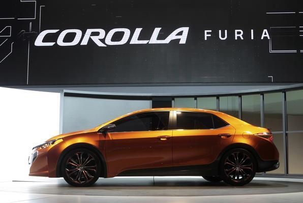 Conceito Furia: novo Corolla é inspirado nele
