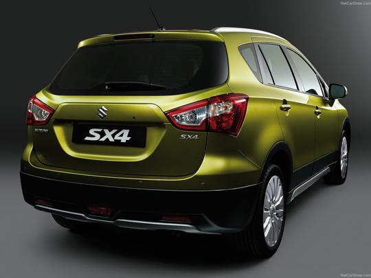 Suzuki apresentou em Genebra a geração 2014 do crossover SX4