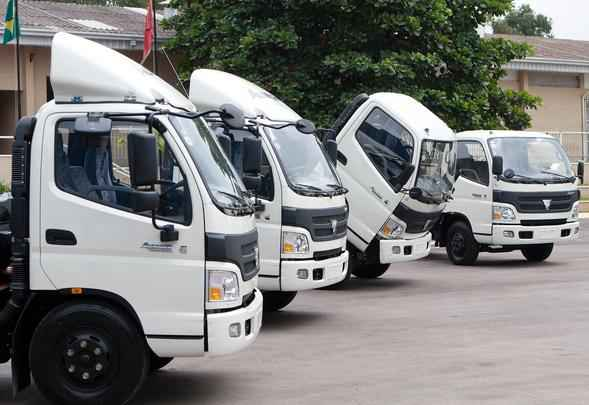 Chinesa Foton Motors anunciou construção de fábrica de caminhões no Brasil