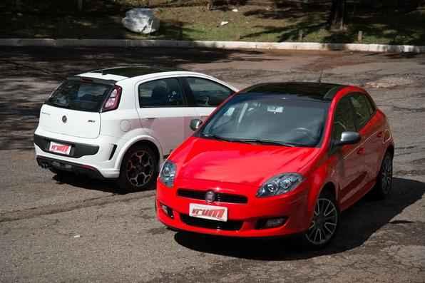 Fiat Bravo Sporting X Fiat Punto T-Jet (Thiago Ventura/EM/D.A Press)