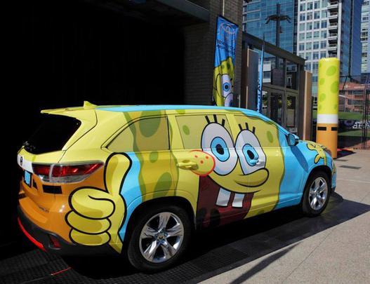 Carro inspirado no desenho animado será estrela do Salão de Los Angeles