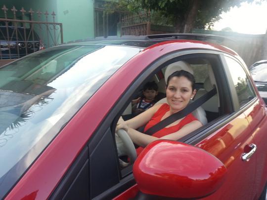 Na Mira do Vrum: Fiat 500, por Regiane Moreira