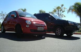 Na Mira do Vrum: Fiat 500, por Lucas Rage