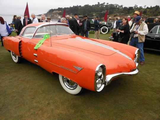 Lincoln 1955 Indianapolis Boano Coupe